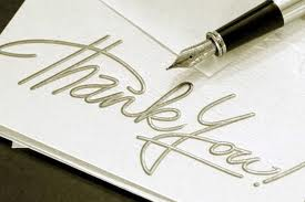 The Lost Art of the Thank You Note: Give Honest, Sincere Appreciation